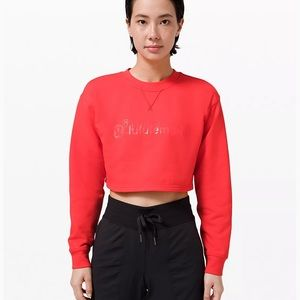 ❤️LULULEMON ALL YOURS CROPPED CREW/LUNAR NEW YEAR